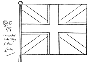 Fig. 776.—The Union Flag of 1707.