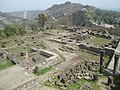 Compound of wells, Kangra Fort 02.JPG
