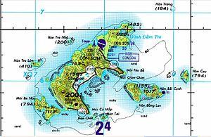 Côn Đảo - Con Dao map