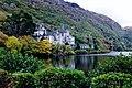Connemara - Kylemore Lough and Abbey - geograph.org.uk - 1630202.jpg
