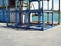 Container =【 20ft 】 Okinawa Car rack (Unknown owner / No number) 【 Marine container only for Japan Domestic 】--①.jpg