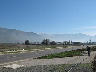 City and Commune in Santiago Metro., Chile