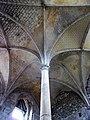 Cormery abbaye voûte du réfectoire.jpg