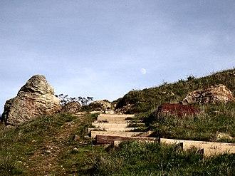 Corona Heights Park - Image: Corona Heights Steps
