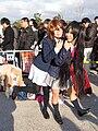 Cosplay of Yui Hirasawa and Azusa Nakano from K-on! 20121229.jpg