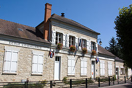 The town hall of Courances
