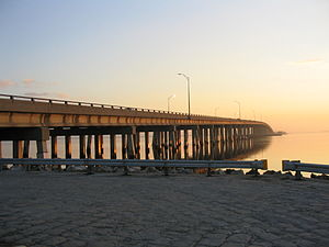Courtney Campbell Causeway - Image: Courtney Campbell
