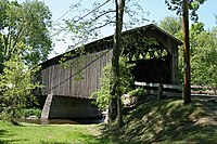 Covered Bridge Cedarburg WI May-09.jpg