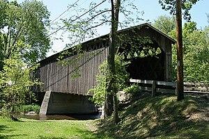 Covered Bridge (Cedarburg, Wisconsin) - Covered Bridge in May 2009