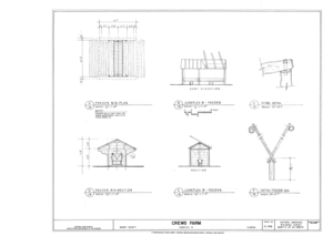 Crews Farm, Macclenny, Baker County, FL HABS FL-398 (sheet 13 of 24).png