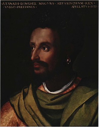 Emperor of Ethiopia - Lebna Dengel, nəgusä nägäst (Emperor) of Ethiopia and a member of the Solomonic dynasty.
