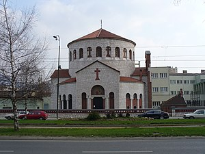 Church of the Holy Transfiguration, Sarajevo - Church of Sveto Preobraženje