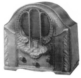 Dynatron oscillator - The dynatron oscillator circuit was also used as the local oscillator in superheterodyne radio receivers, such as this 1931 Crosley model 122 seven tube radio.