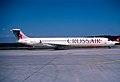 Crossair MD-83; HB-ISX, April 2002 DIF (6520822835).jpg