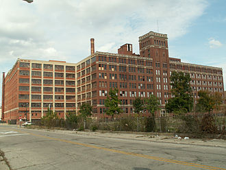 Crowell-Collier Publishing Company - Crowell-Collier building in Springfield, Ohio (2011)