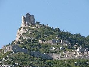 Ardèche - Image: Crussol 2004 05 19 001