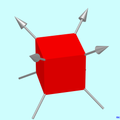 Cube with 3-fold rotational axes RK01.png