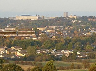 Skyline of Cumbernauld