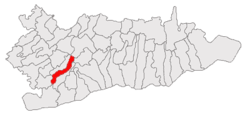 Location of Curcani, Călărași