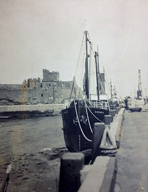SS Cushag - Cushag pictured berthed at Peel.