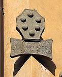 Cutigliano, palazzo dei capitani della montagna, stemmi 01 pietro paolo di averardo de' medici, 1737-39, 0.jpg