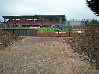 Cwmbran - Cwmbran Stadium.