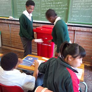 Human rights in South Africa - Primary School in South Africa