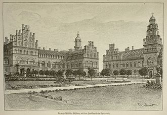 Residence of Bukovinian and Dalmatian Metropolitans - The Residence (photo/1899)