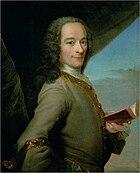 D'après Maurice Quentin de La Tour, Portrait de Voltaire (c. 1737, musée Antoine Lécuyer)