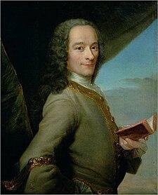 Voltaire ritratto da Maurice Quentin de La Tour (1737-1740 circa)