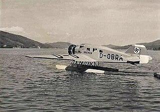 Junkers Ju 46 1932 mail plane