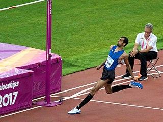 Syrian high jumper
