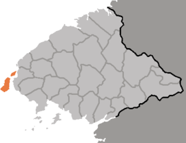Location of Sindo County