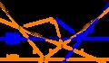 DThalesVarianten-01 Zwei Varianten der euklidischen Interpretation des dualen Thalessatzes.png