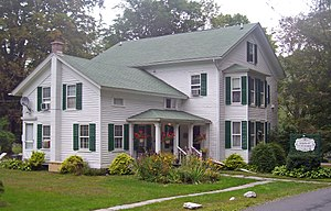 National Register of Historic Places listings in Pike County, Pennsylvania - Image: D & H Canal Co House, Lackawaxen, PA