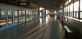 Daegok station - Ilsan Line Platform