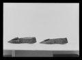 Damsko, pumps, (till vänsterfot) av svart siden - Livrustkammaren - 78061.tif