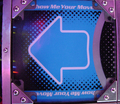 Dance Dance Revolution Extreme arcade machine arrow panel.png