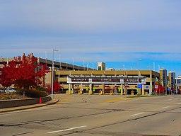 Dane County Airport Parking Ramp Entrance - panoramio