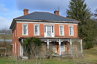 National Register of Historic Places listings in Harrison County, West Virginia - Image: Daniel Bassel House