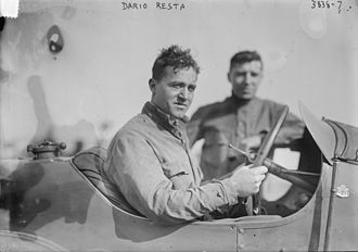 American open wheel car racing - Dario Resta, 1916 National Champion