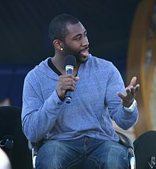 Description de l'image  Darrelle Revis ESPNWeekend2010-051.jpg.