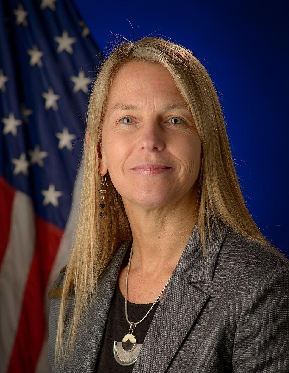Dava Newman, official portrait