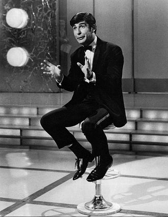 Dave Allen (comedian) - Allen as the host of the CBS programme Showtime in 1968.