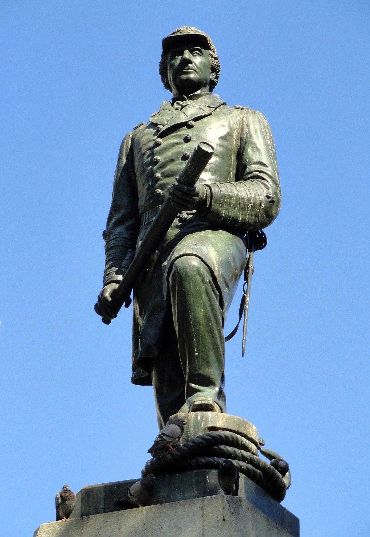 Admiral David G. Farragut (Ream statue) - Wikipedia