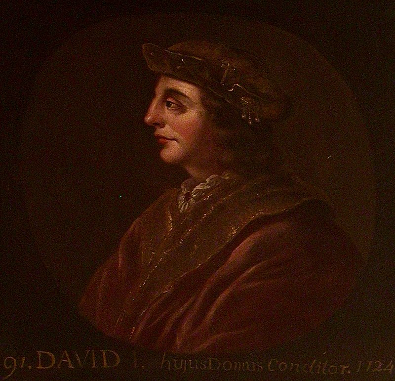 Давид I Шотландский (Холируд) .jpg