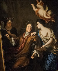 David Klöcker Ehrenstrahl - Selfportrait with Allegories.jpg