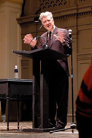 David Lynch at Town Hall