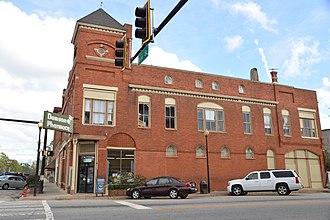 Dawson, Georgia - Image: Dawson Historic District, Dawson, GA, US (02)