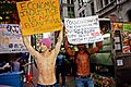 Day 40 Occupy Wall Street October 25 2011 Shankbone 2.JPG